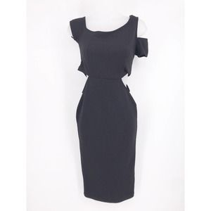 Nectar Dress Cut Out at Waist and Sleeve